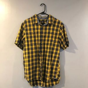 VANS Checker Short Sleeve Button Down
